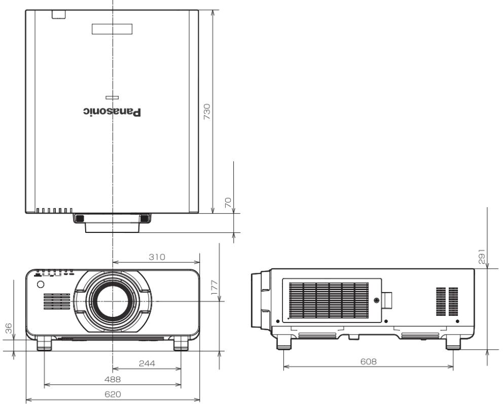Panasonic 3チップDLPプロジェクター(PT-DZ21K2J)