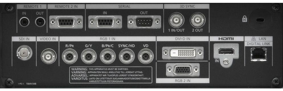 Panasonic 1チップDLPプロジェクター(PT-DZ870K)