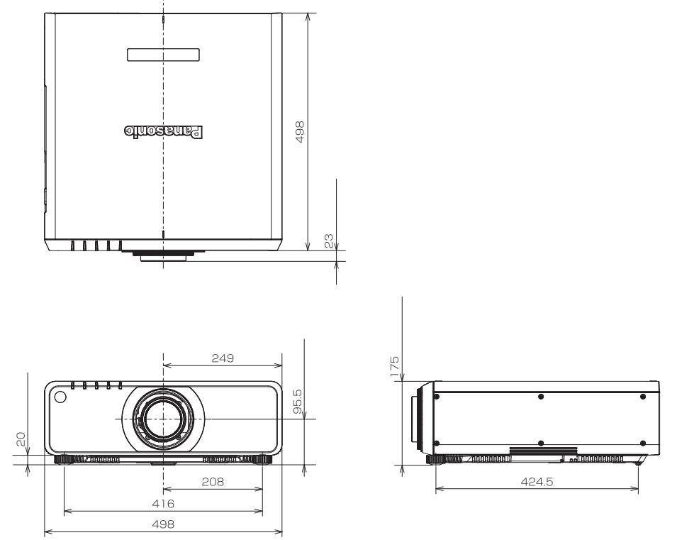 Panasonic 1チップDLPプロジェクター(PT-DX820JB)
