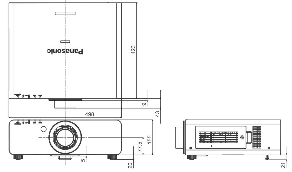 Panasonic 1チップDLPプロジェクター(PT-DX810K)