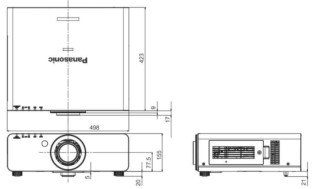 Panasonic 1チップDLPプロジェクター(PT-DX610K)