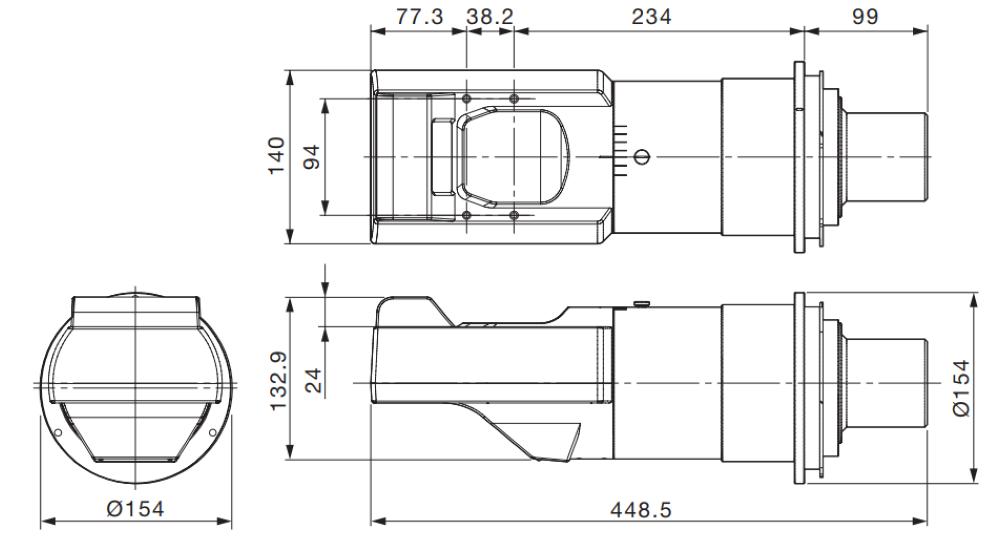 Panasonic 固定短焦点レンズ(ET-D75LE90)