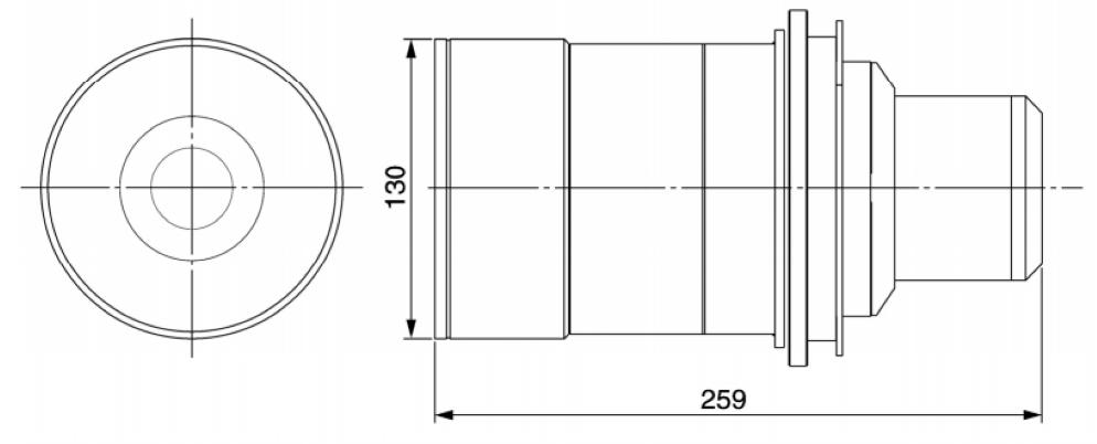 Panasonic 短焦点ズームレンズ(TY-D75LE1)