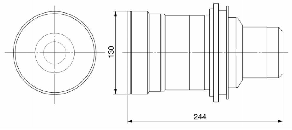 Panasonic 短焦点ズームレンズ(ET-D75LE2)