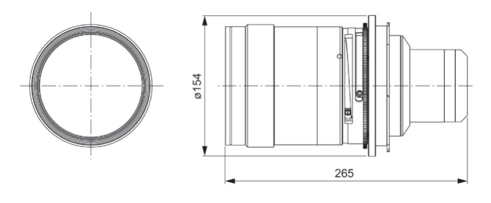 Panasonic 短焦点ズームレンズ(ET-D75LE20)