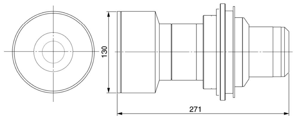 Panasonic 長焦点ズームレンズ(TY-D75LE4)