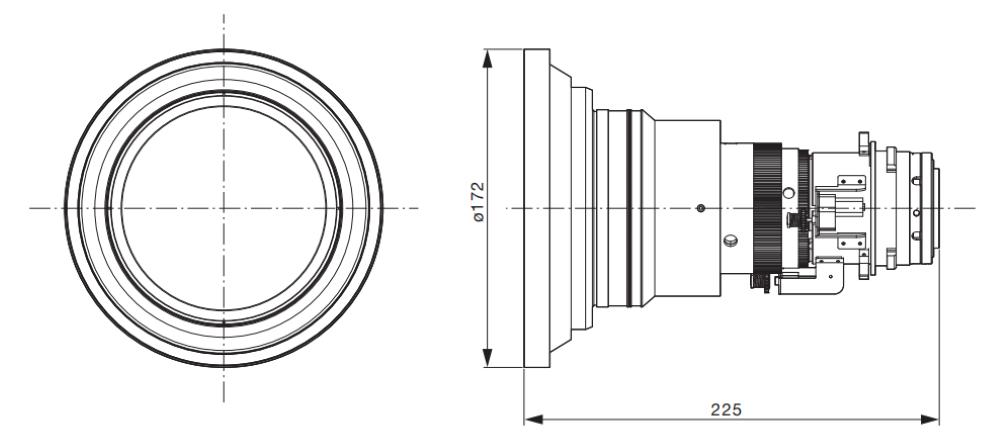 Panasonic 短焦点ズームレンズ(ET-DLE060)