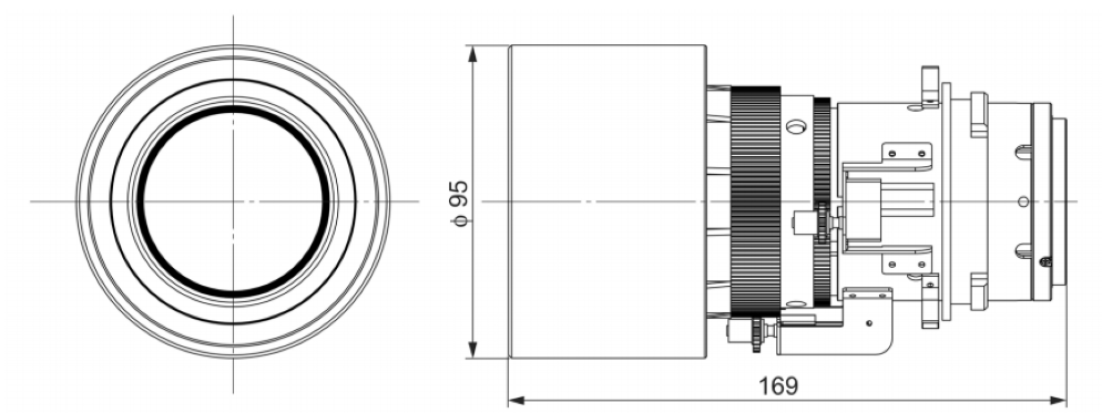 Panasonic 長焦点ズームレンズ(ET-DLE350)