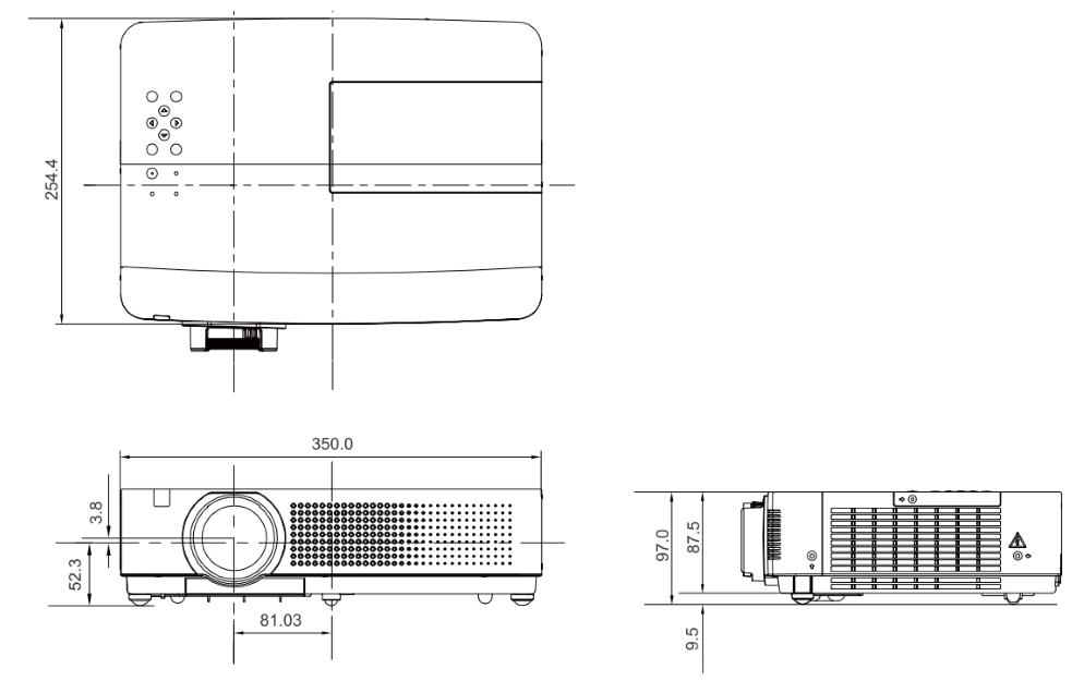 Panasonic 液晶プロジェクター(PT-VX400)