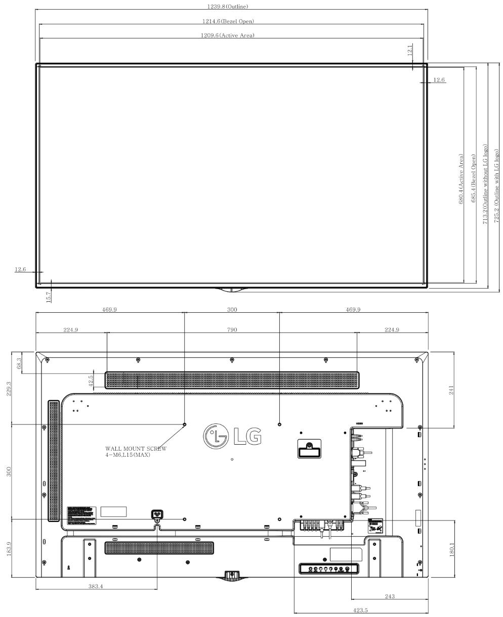 LG 55インチ4K液晶ディスプレイ(55UH5C)