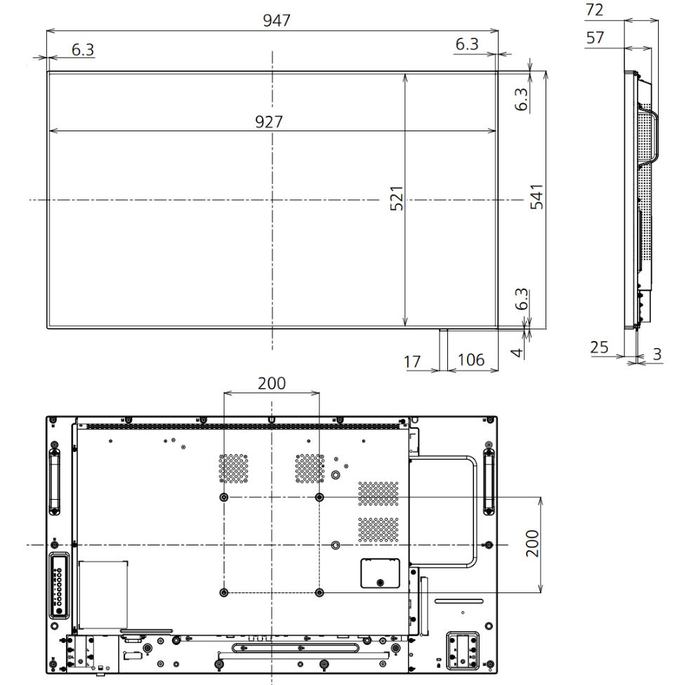 Panasonic 42インチ液晶ディスプレイ(TH-42LF80J)