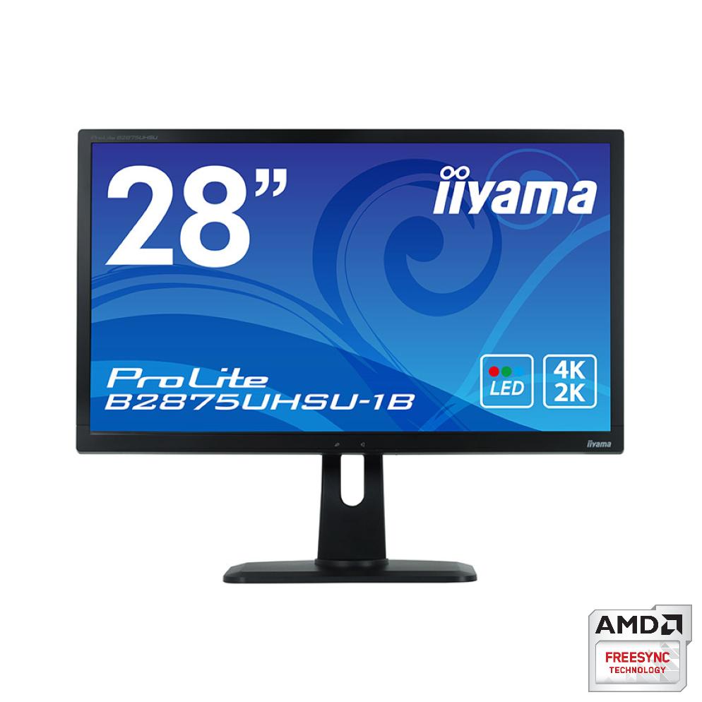 iiyama 28インチ4K液晶ディスプレイ(B2875UHSU)