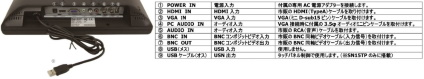 ADTECHNO 15インチ液晶モニター(SN15TS) 角度調整スタンド付