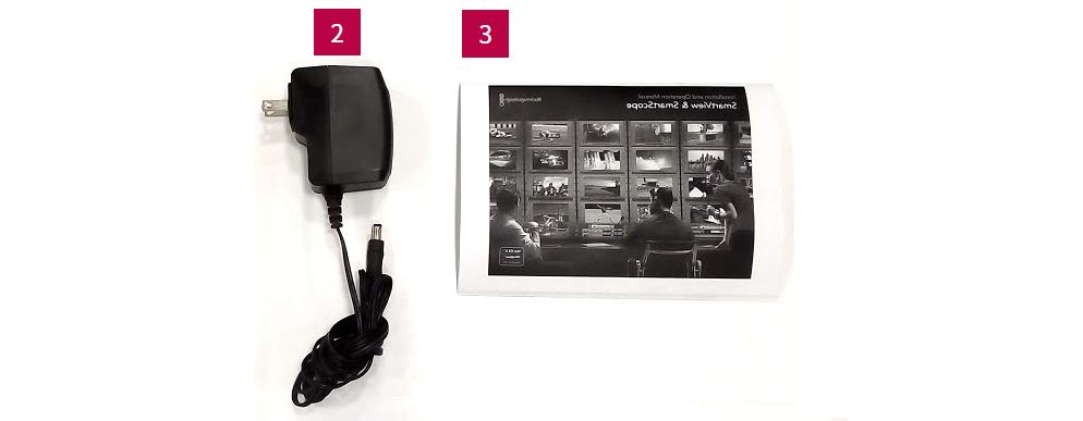 Blackmagic Design 8インチ2連モニター(SmartView DUO)