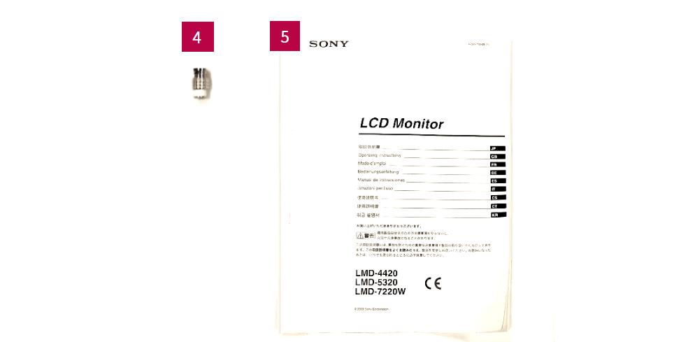 SONY 5.6インチ3連モニター(LMD-5320)
