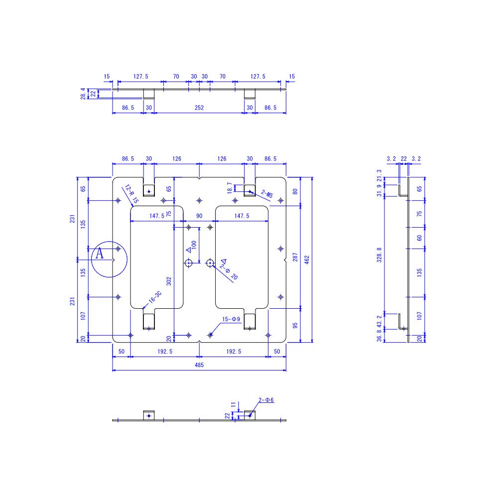 RATEC 壁掛金具(MLT-1029)