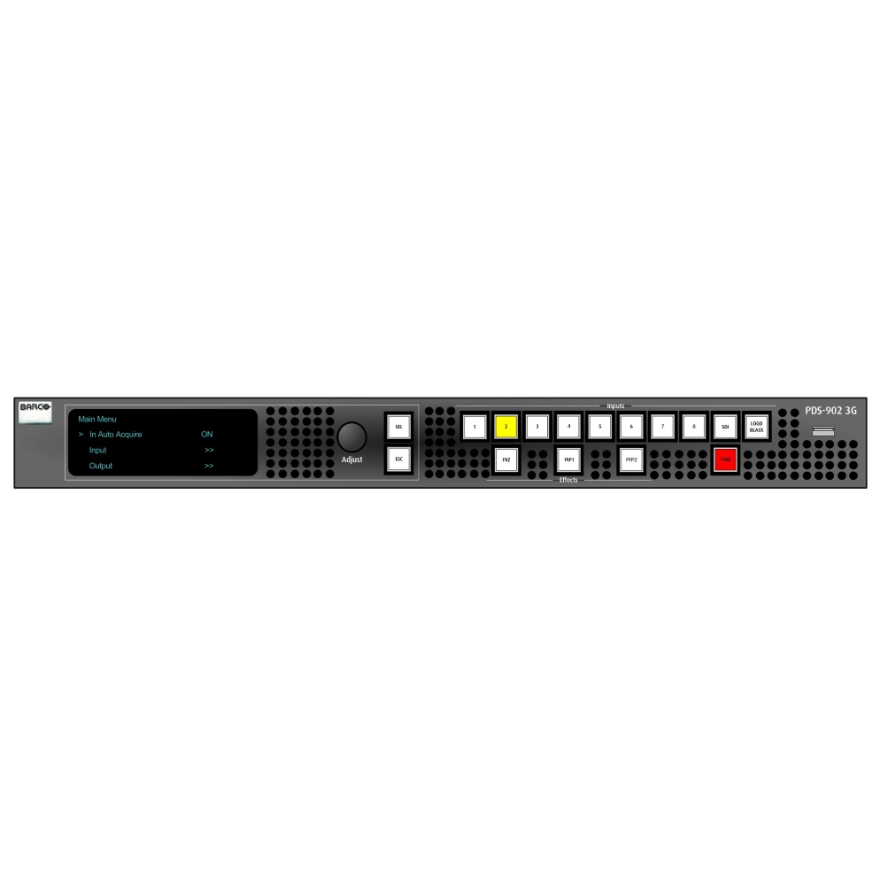 BARCO シームレススイッチャー(PDS-902 3G)