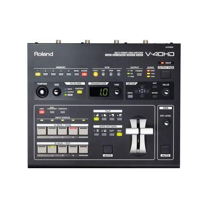 Roland マルチフォーマットビデオスイッチャー(V-40HD)