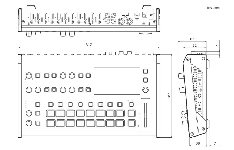 Roland ビデオスイッチャー(V-8HD)