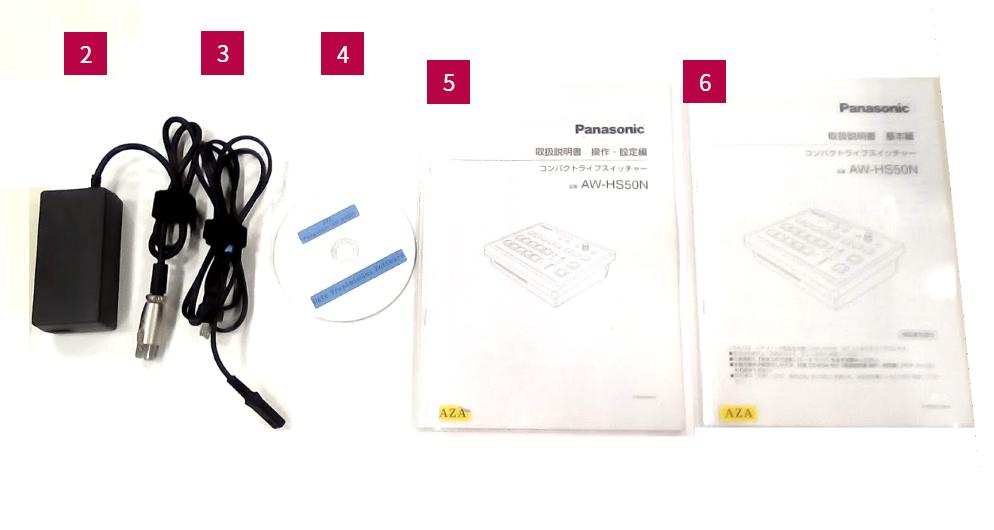 Panasonic コンパクトライブスイッチャー(AW-HS50N)