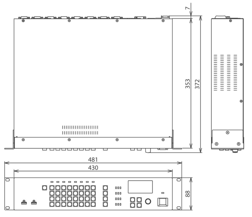 Roland マトリクススイッチャー(XS-84H)