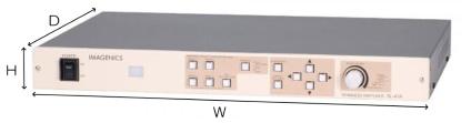 IMAGENICS マルチシグナル対応シームレススイッチャー(SL-41A)
