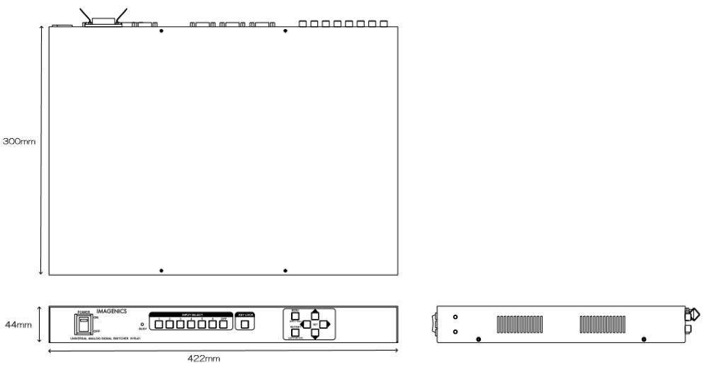 IMAGENICS ユニバーサルスイッチャー(HYB-61)