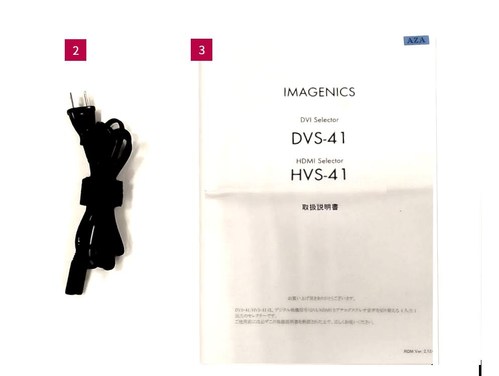 IMAGENICS HDMIスイッチャー(HVS-41)