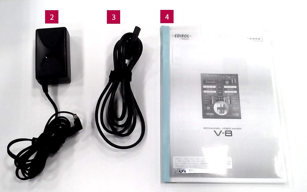 Roland 8chビデオミキサー(V-8)