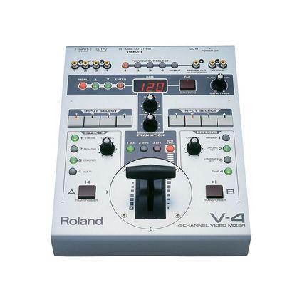 Roland 4chビデオミキサー(V-4)