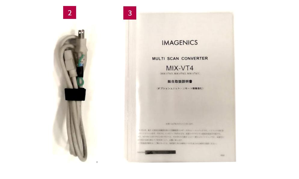IMAGENICS マルチスキャンコンバーター(MIX-VT4)