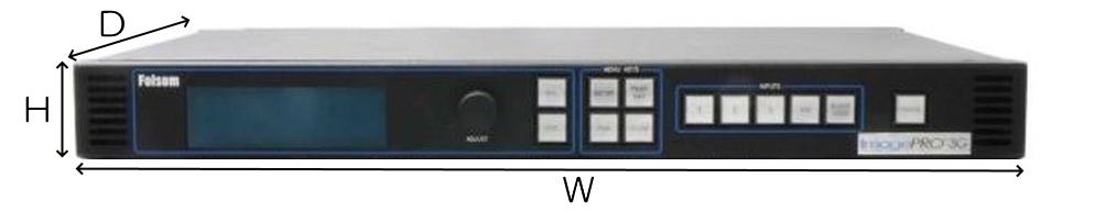 BARCO-Folsom マルチフォーマットイメージプロセッサー(ImagePro-HD)