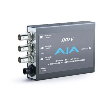 AJA HD/SD-SDIエンベ・ディスエンベデッダ(HD10AMA)