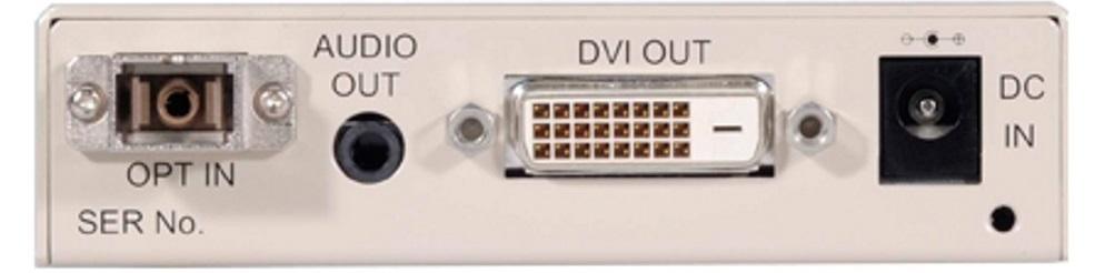 IMAGENICS DVI光受信器(CRO-DOT7RX)