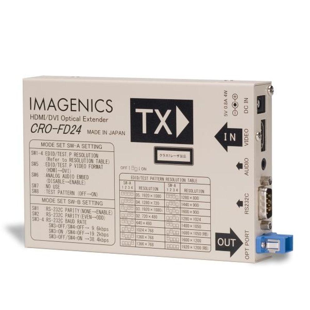 IMAGENICS HDMI光送信器(CRO-FD24TX)