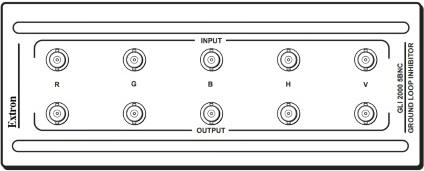 Extron RGBハムノイズ除去器(GLI2000)