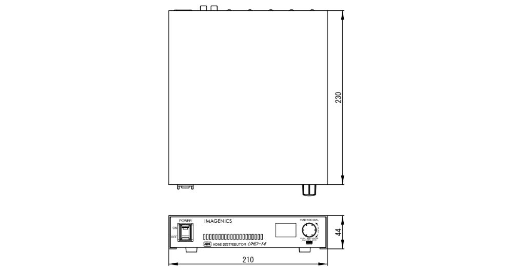 IMAGENICS HDMI2.0 HDMI分配器(UHD-14)