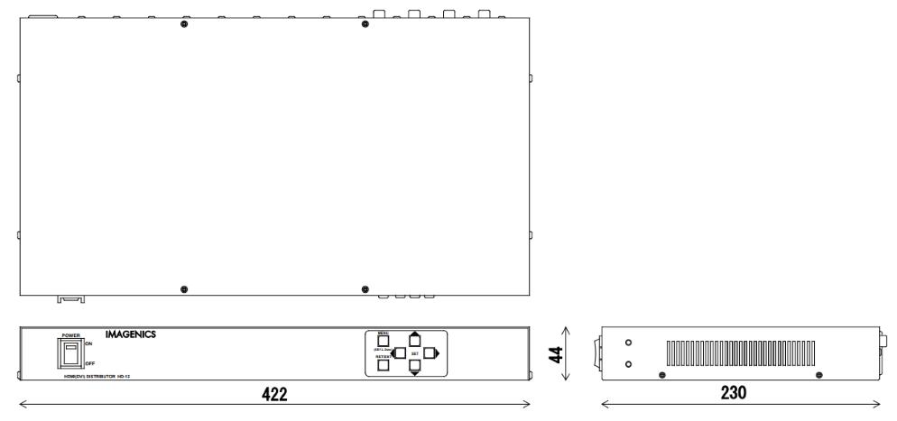 IMAGENICS HDMI分配器(HD-12)