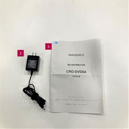 IMAGENICS 3G/HD/SD-SDI分配器(CRO-DVD8A)