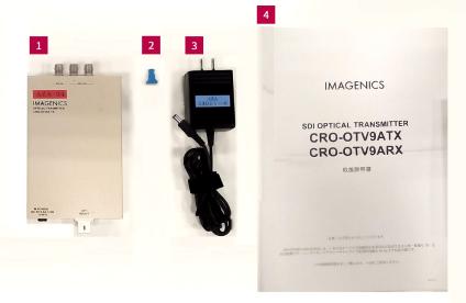 IMAGENICS 双方向SDI対応送信器(CRO-OTV9TX)