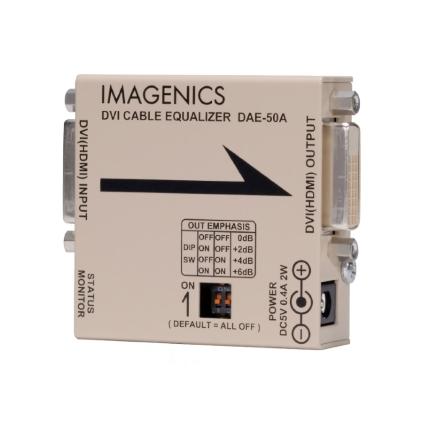 IMAGENICS DVIケーブルイコライザー(DAE-50A)