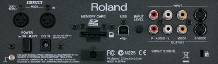 Roland ビジュアルサンプラー(P-10)