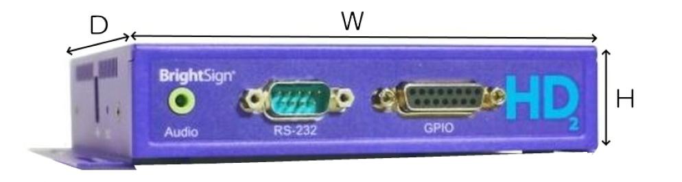 BrightSign メディアプレーヤー(HD1022)