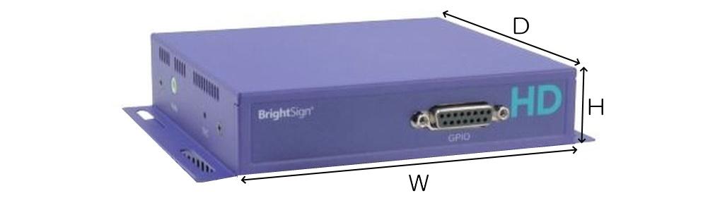 BrightSign メディアプレーヤー(HD120)