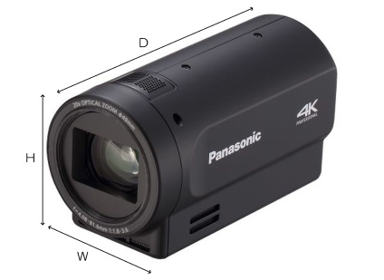 Panasonic AG-UMR20用コンパクトカメラヘッド(AG-UCK20GJ)