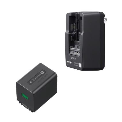SONY リチャージャブルバッテリーパックセット(NP-FV70A/BC-QM1)