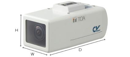 TOA 監視カメラ(C-CV150-2)