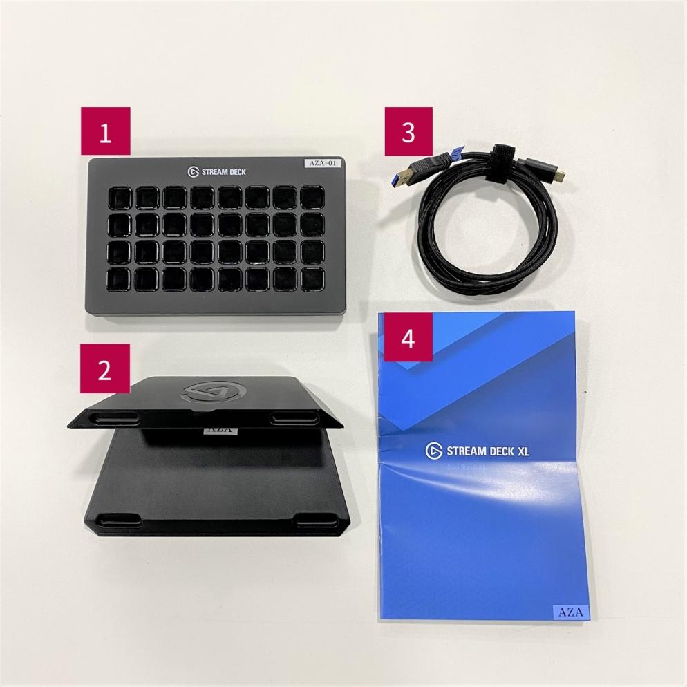 elgato USBコントローラー(STREAM DECK XL)