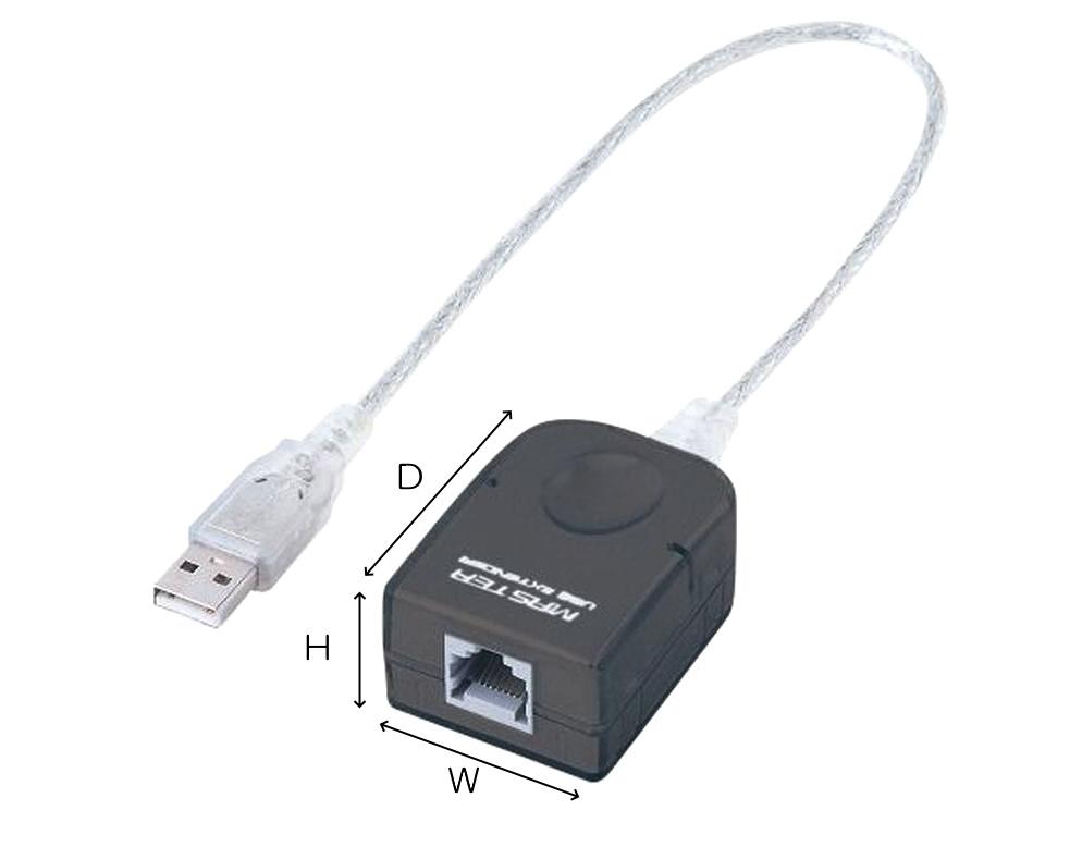 サンワサプライ USBエクステンダー(USB-RP40)