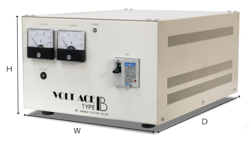 YAMABISHI 自動電圧調整器(ACE-2K-B-S) 平行付